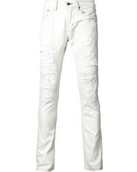 Jean skinny déchiré blanc NSF