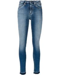 Jean skinny déchiré bleu clair CK Calvin Klein