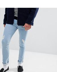 Jean skinny déchiré bleu clair Just Junkies