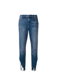 Jean skinny déchiré bleu Frame Denim