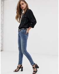 Jean skinny déchiré bleu One Teaspoon