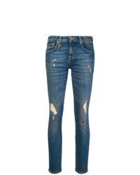 Jean skinny déchiré bleu R13