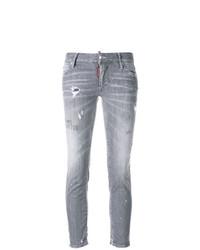 Jean skinny déchiré gris Dsquared2