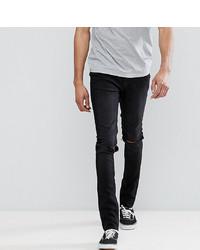Jean skinny déchiré noir Cheap Monday