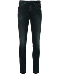 Jean skinny déchiré noir CK Calvin Klein