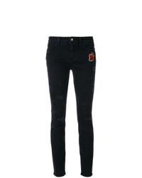 Jean skinny déchiré noir Dolce & Gabbana