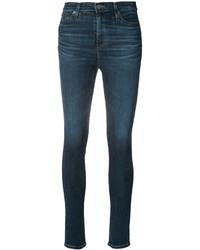 Jean skinny en coton bleu canard AG Jeans