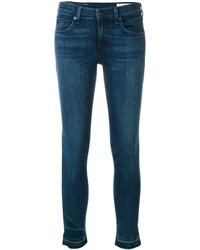 Jean skinny en coton bleu canard Rag & Bone