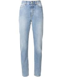Jean skinny en coton bleu clair Alexander McQueen