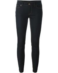 Jean skinny en coton bleu marine Dolce & Gabbana