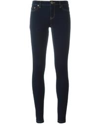 Jean skinny en coton bleu marine MICHAEL Michael Kors