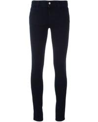 Jean skinny en coton bleu marine Stella McCartney