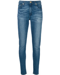 Jean skinny en coton bleu MICHAEL Michael Kors