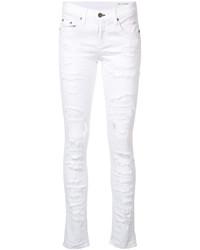 Jean skinny en coton déchiré blanc Rag & Bone