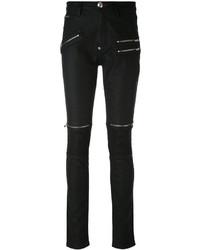 Jean skinny en coton noir Philipp Plein