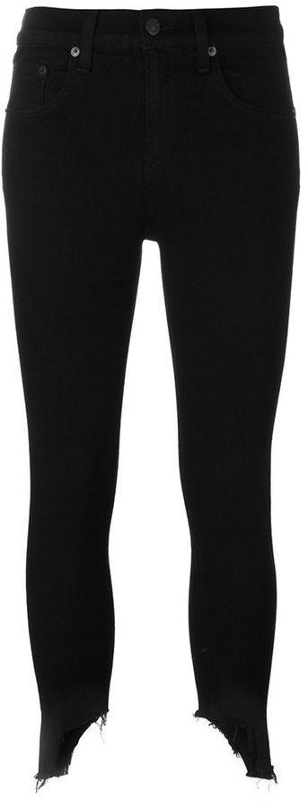 Jean skinny en coton noir Rag & Bone