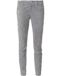 Jean skinny en cuir gris Closed