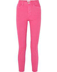 Jean skinny fuchsia Current/Elliott