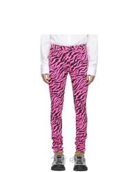 Jean skinny fuchsia Gucci