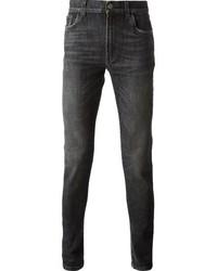 Jean skinny gris fonce original 4565988