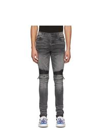 Jean skinny gris foncé Amiri