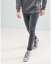 Jean skinny gris foncé ASOS DESIGN