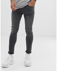 Jean skinny gris foncé Burton Menswear