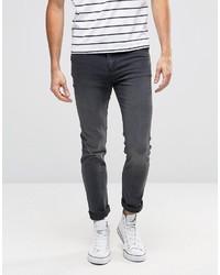 Jean skinny gris foncé Cheap Monday