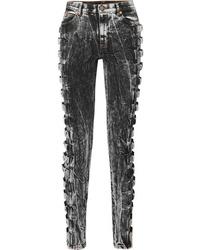 Jean skinny gris foncé Gucci