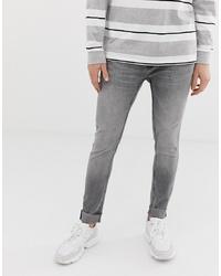 Jean skinny gris Bershka