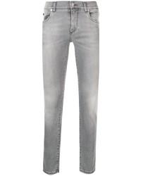 Jean skinny gris Dolce & Gabbana