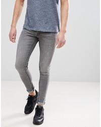 Jean skinny gris Hoxton Denim