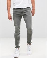 Jean skinny gris Jack & Jones