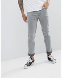 Jean skinny gris Le Breve