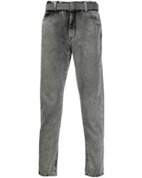 Jean skinny gris Off-White