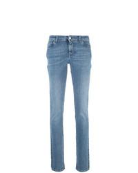 Jean skinny imprimé bleu Givenchy