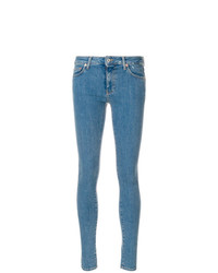 Jean skinny imprimé bleu Off-White