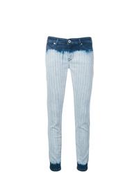 Jean skinny imprimé tie-dye bleu clair Diesel Black Gold