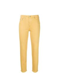 Jean skinny jaune AG Jeans