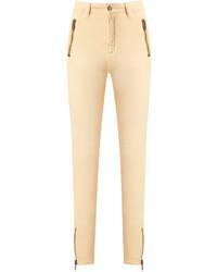 Jean skinny jaune