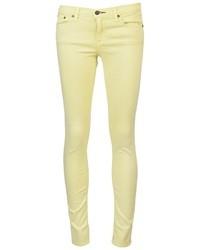 Jean skinny jaune Rag and Bone