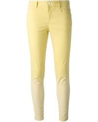 Jean skinny jaune Stella McCartney