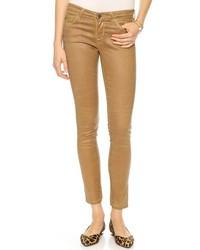 Jean skinny marron clair AG Jeans