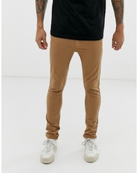 Jean skinny marron clair Burton Menswear
