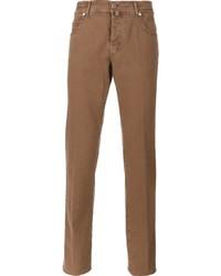 Jean skinny marron Kiton