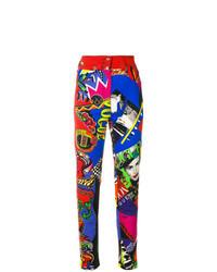 Jean skinny multicolore
