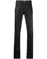 Jean skinny noir Alexander McQueen