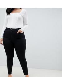 Jean skinny noir Asos Curve