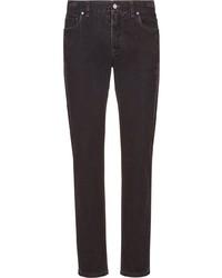 Jean skinny noir Fendi