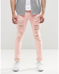 Jean skinny rose